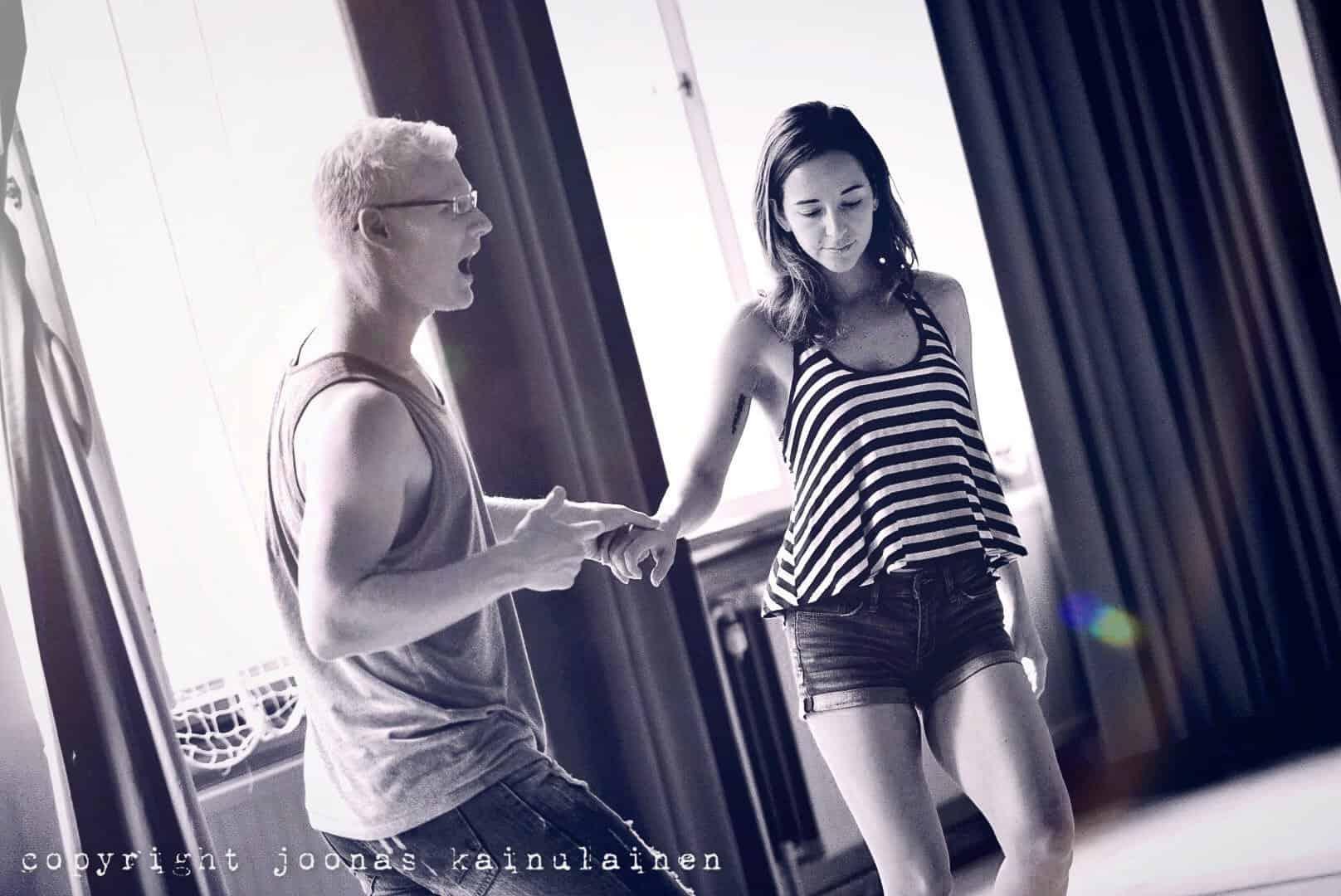 Stephen&Sonya Valasrannan tanssileirillä