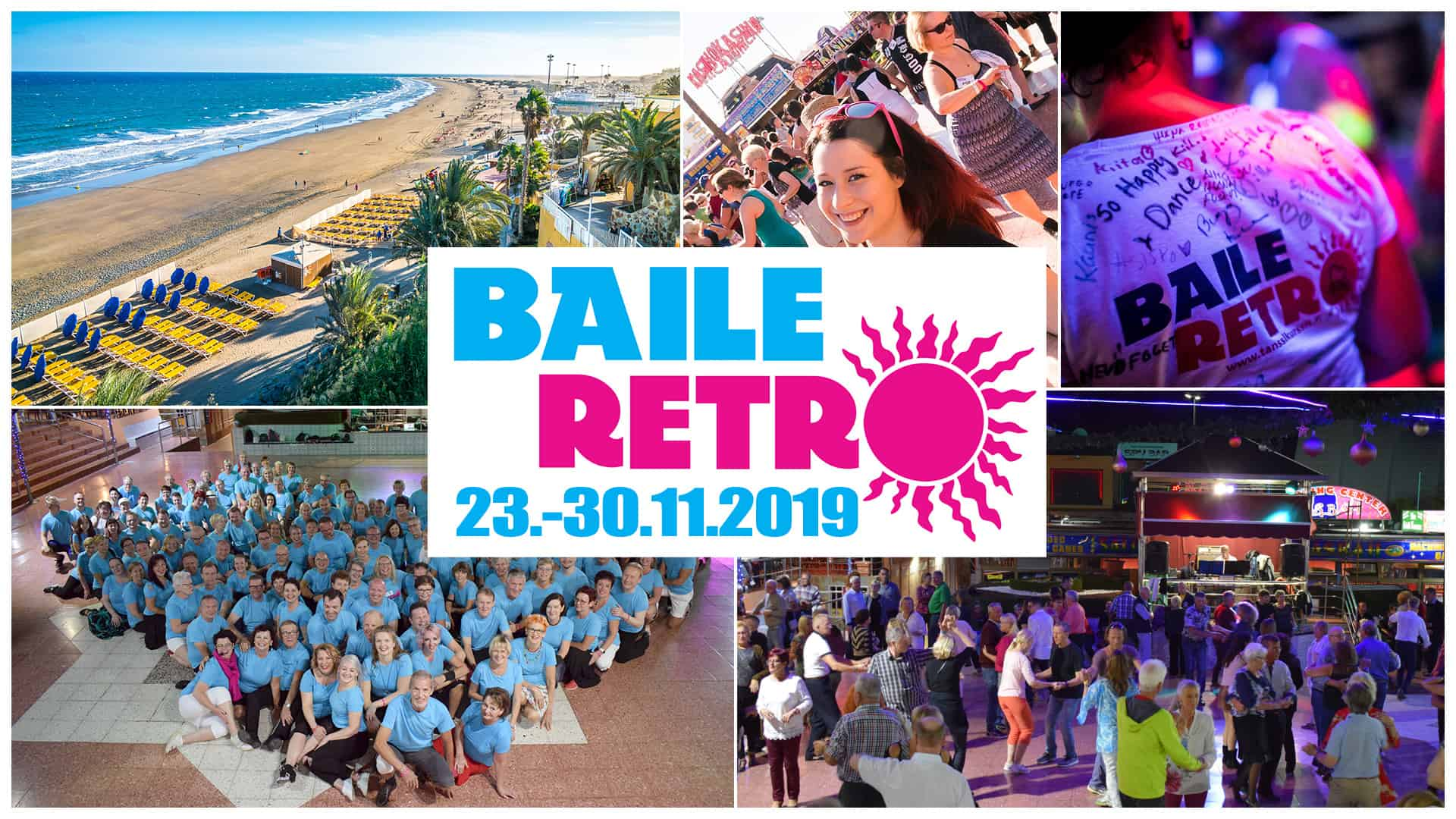 Baile Retro 23.-30.11.2019 Playa del ingles, Tanssimatka kanarialle