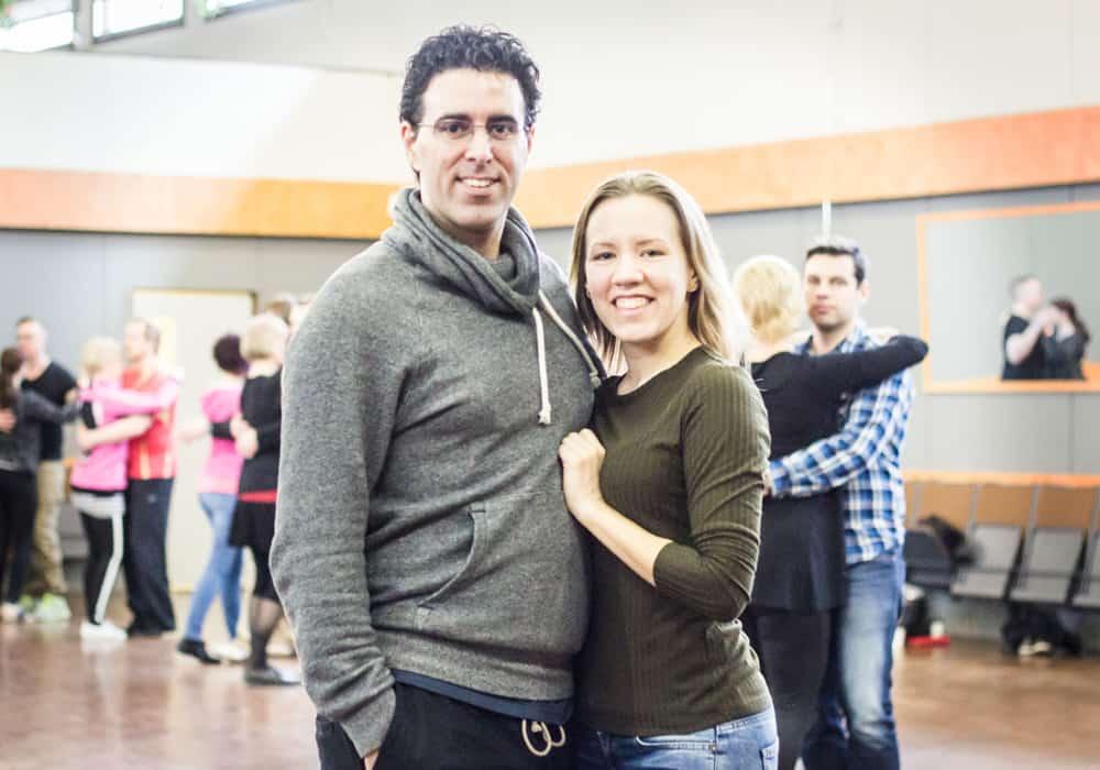 Johanna Sallinen ja Omar Bakr