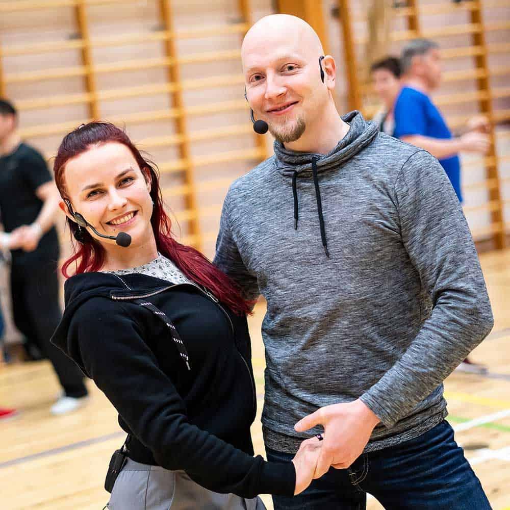 Anne-Riina ja Tapani TanssiStartissa 2019