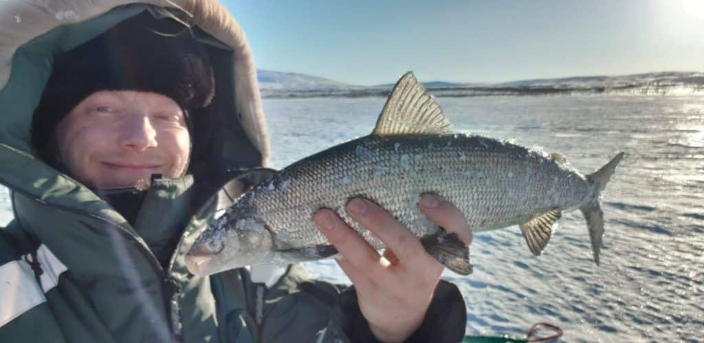 Tapani Hasa, onnellinen kalastaja