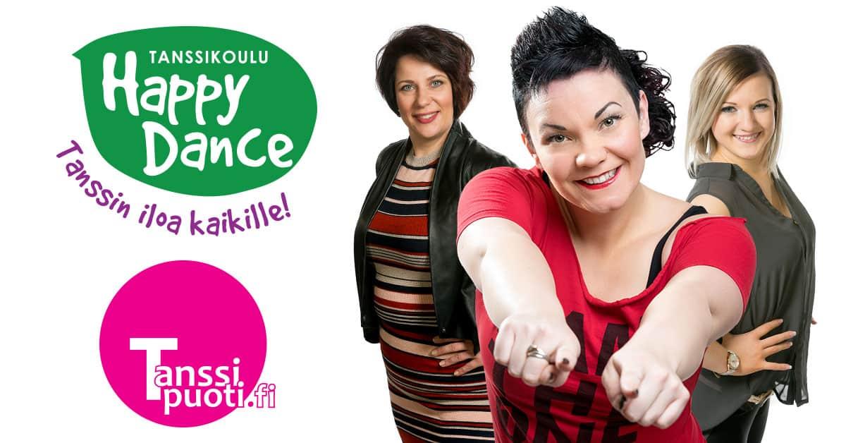 Tanssikoulu Happy Dance ja Tanssipuoti tiivistävät yhteistyötään!