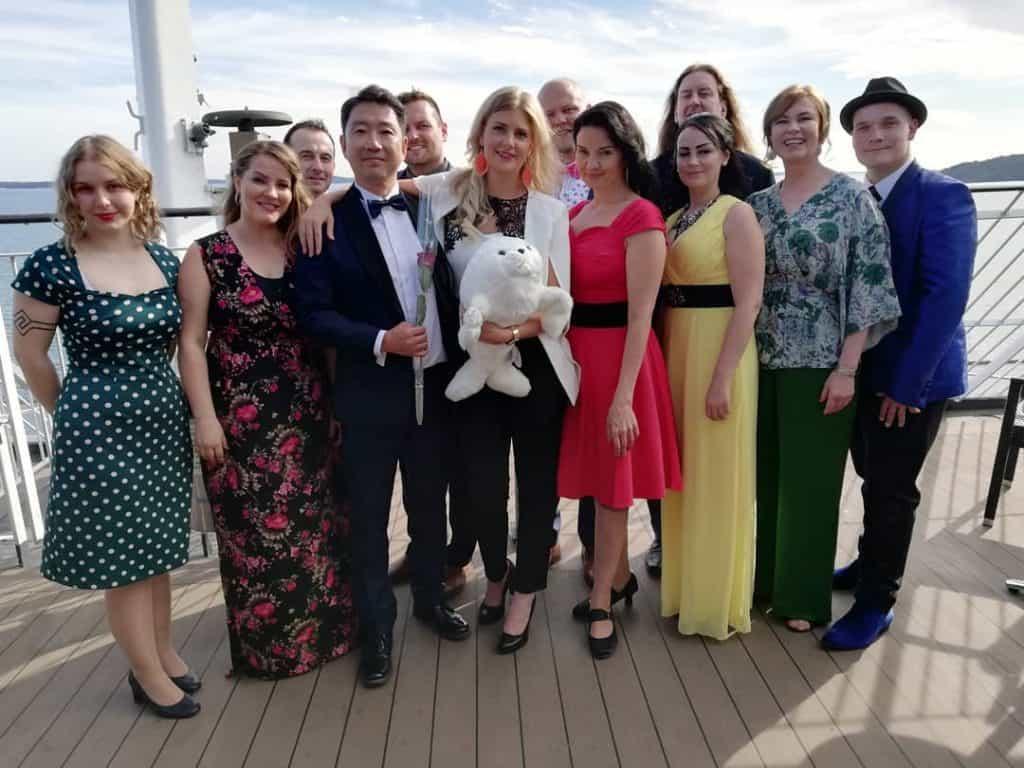 Tangofinalistit 2019 Meritangoristeilyllä