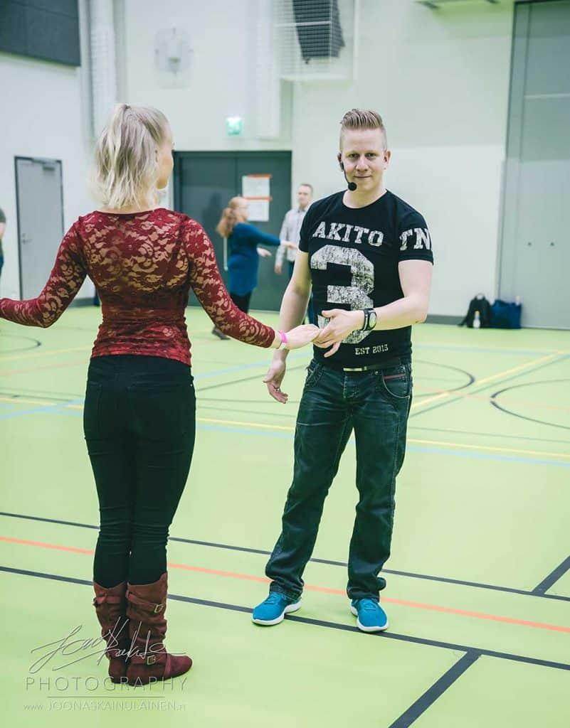 Joonas ja Alina Pääsiäisleirillä 2018