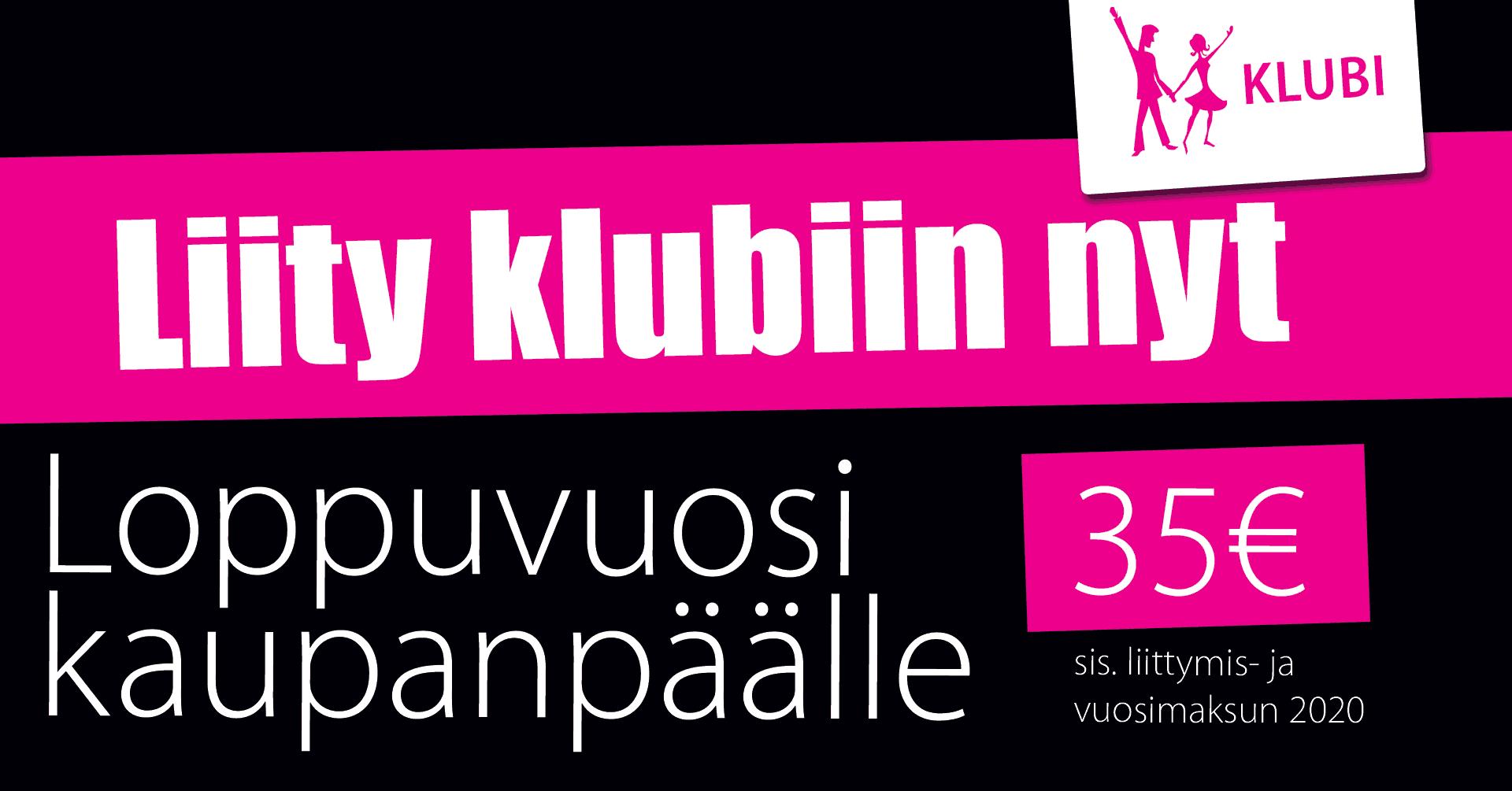 Liity klubiin - loppuvuosi kaupanpäälle / tanssikurssit.fi
