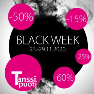 Tanssipuoti Black Week 2020