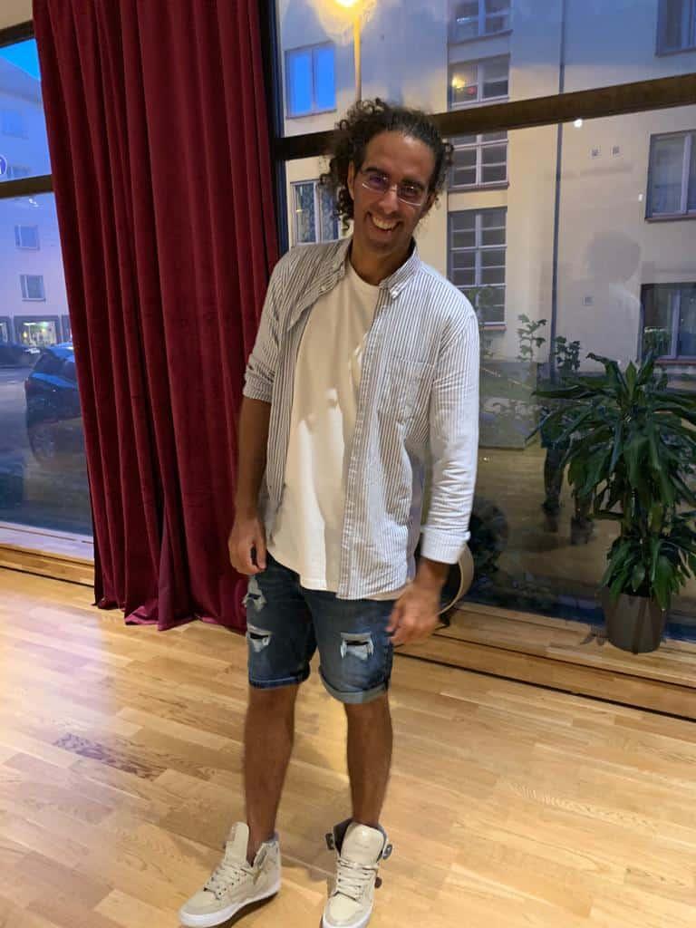 Omar Bakr tanssija ja tanssinopettaja Helsingistä