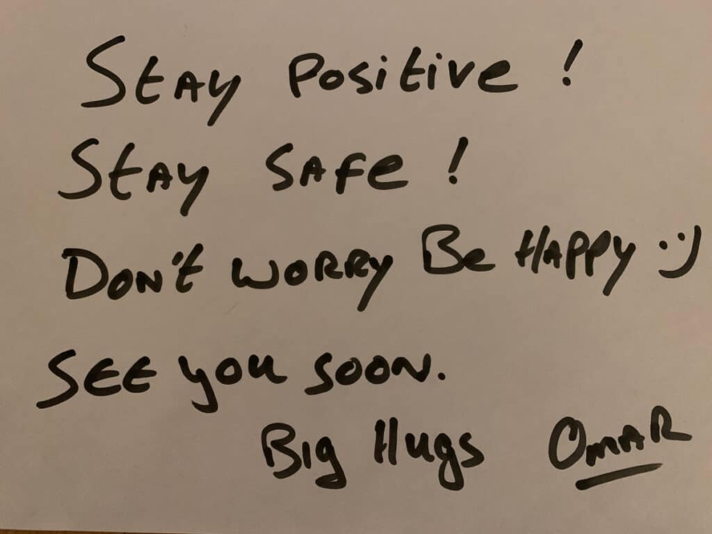 Stay Positive, stay safe