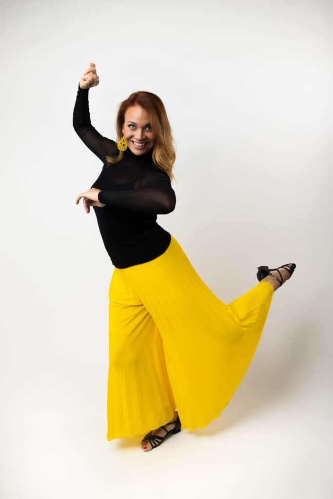 Tanssija ja tanssinopettaja Janica Saarni