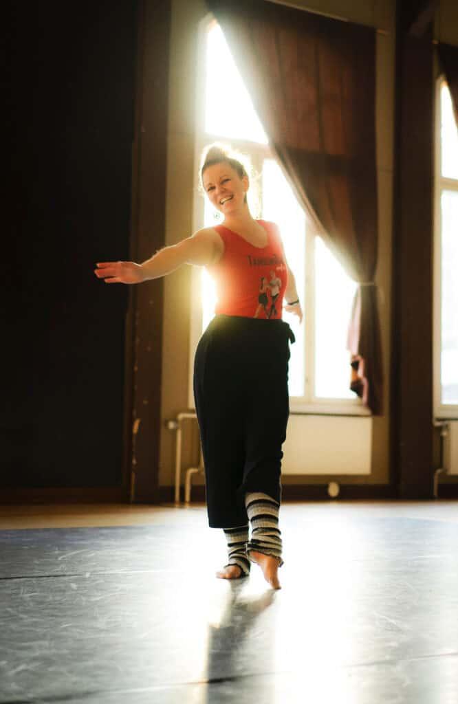 Elisa Ahonen Tanssin Tahdin tanssinopettaja